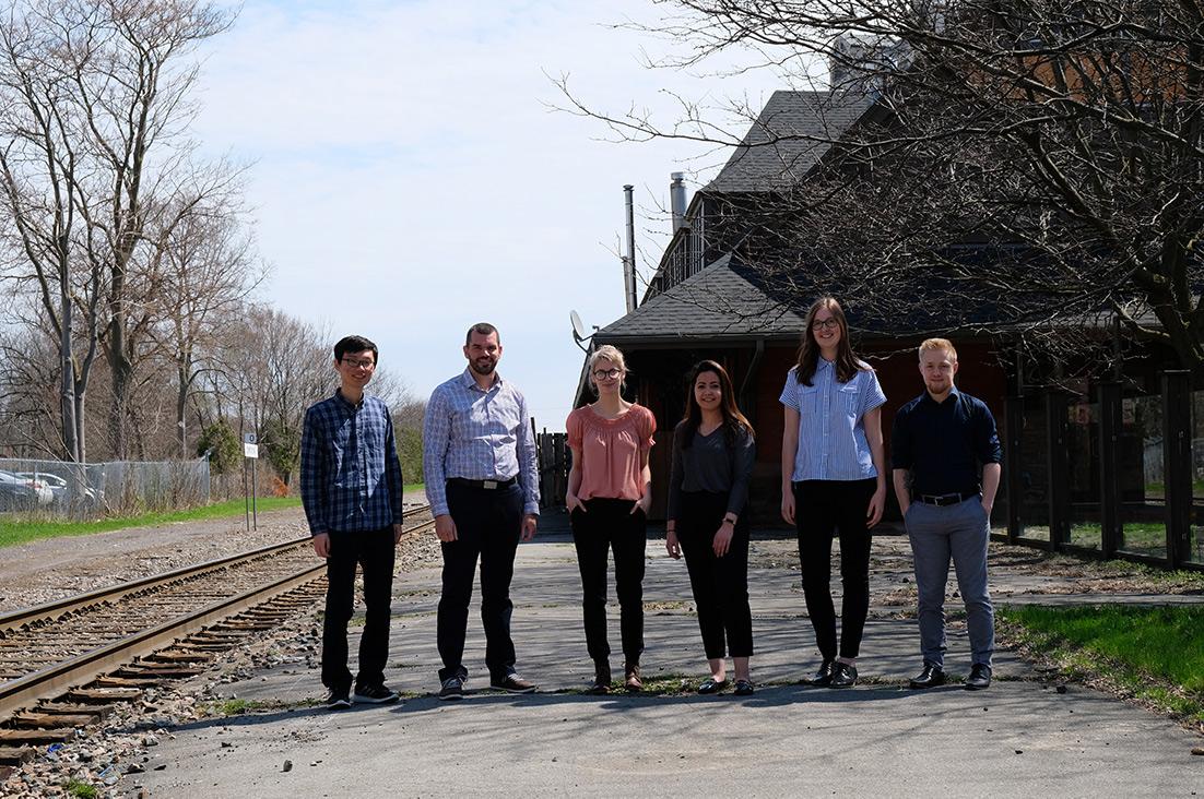 Rail to Trail London team